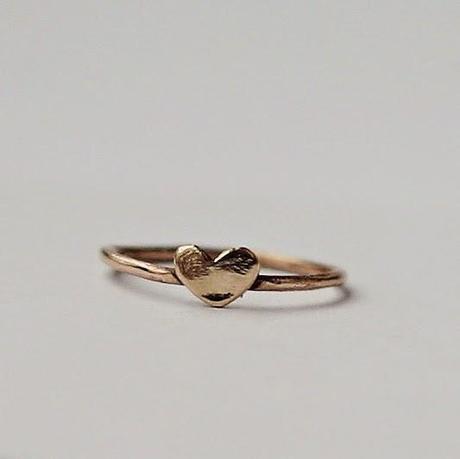 What I love: Anello con il cuore