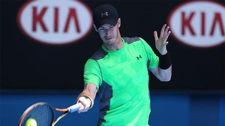 Australian Open 2015, Andy Murray: nuovo outfit Under Armour