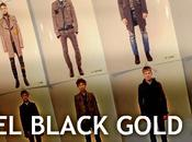 Diesel black gold stile college punk!