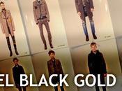 Diesel black gold stile college punk!