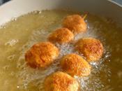 Spiedini polpettine pesce Fried fish balls