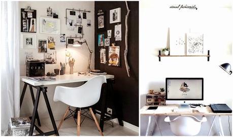 Arredare un piccolo studio in casa idee chic low cost e for Arredare uno studio in casa