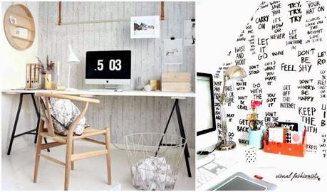 Arredare un piccolo studio in casa idee chic low cost e consigli paperblog - Arredare studio casa ...