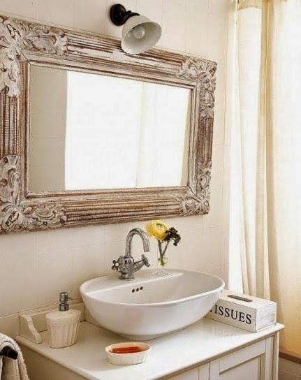 idee per la casa specchio per il bagno