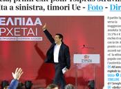 Grecia: Tsipras stravince. Verso maggioranza assoluta