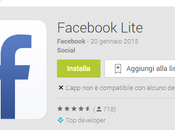 Facebook Lite arriva Play Store: client diventa ipocalorico