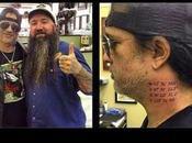 SLASH Nuovo tatuaggio collo (foto)