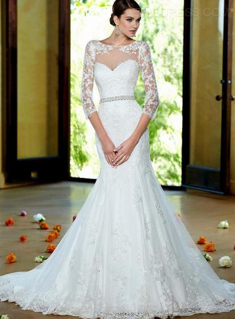 c5357677bd538 Abiti da sposa colorati a basso costo – Modelli alla moda di abiti 2018