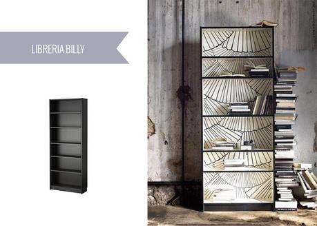 Ikea hacks 7 idee da provare paperblog - Scala decorativa ikea ...