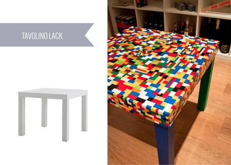 Ikea hacks 7 idee da provare paperblog for Lack tavolino ikea