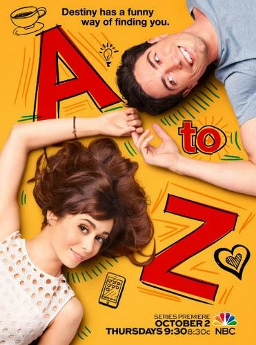 I ♥ Telefilm: AHS. Freak Show, Galavant, A to Z, Manhattan Love Story