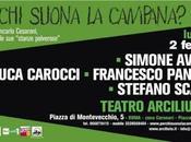 @TeatroArciliuto: suona Campana? L'appuntamento Lunedì febbraio strabilia