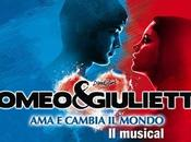 Romeo Giulietta musical Palapartenope