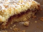 Torta sbriciolata agli amaretti marmellata fragole fragoline bosco