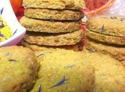 Biscotti avena fiordalisi all'arancia