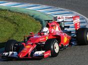 Test Jerez, Vettel Ferrari subito