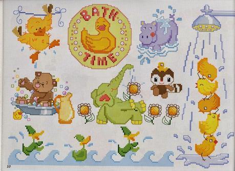 Schemi punto croce per bambini e neonati paperblog for Neonati da colorare e stampare