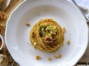 Spaghetti Integrali Broccoli Bottarga Muggine Noci
