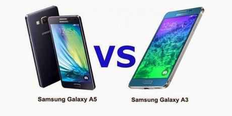 Samsung Galaxy A5 vs Samsung Galaxy A3: disponibile il video confronto in italiano