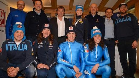 La tuta da sci dell'Italia di Kappa per i Mondiali di Vail 2015