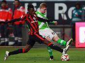 Bundesliga, Wolfsburg impatta Francoforte: Fohlen accorciano