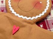 Aspettando Natale...un gingerbread tessuto colorare nostra casa!