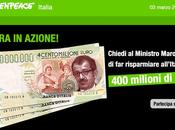 Appello greenpeace accorpare referendum nucleare alle votazioni maggio risparmiare 400milioni euro.