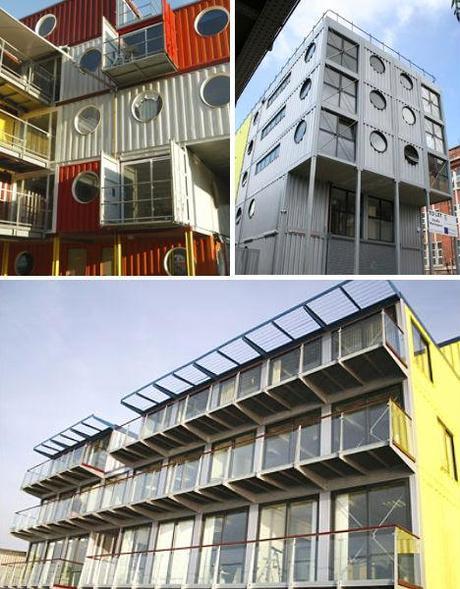 Architettura di stile con i container paperblog for Architettura in stile cottage