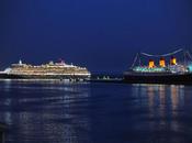 Long Beach: Queen Victoria saluta Mary