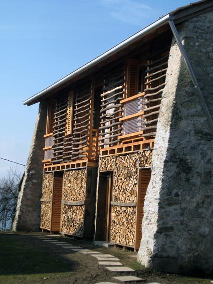 Ristrutturazione di un fienile paperblog for Moderni piani di casa del fienile