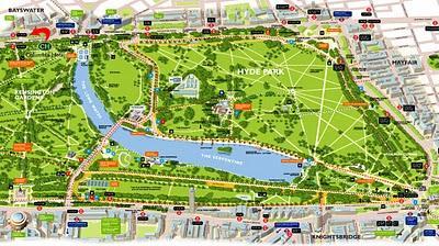 Londra Zone Istituzionali Parchi Amp Monumenti Paperblog