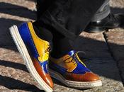 Shoes man: Pitti Milan fashion week.