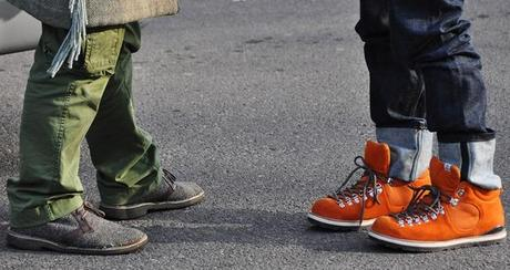 Shoes man: Pitti and Milan man fashion week.