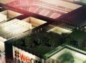 primo video nuovo stadio Milan