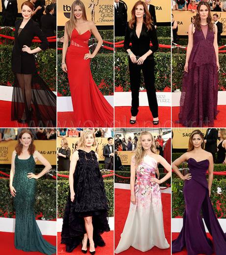 Sag Awards 2015: look da red carpet