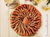 Girasole pasta sfoglia crema nocciole Piemonte, fiore Valentino! Sunflower puff pastry cream hazelnuts from Piedmont, flower Valentines!