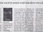 """futuro incubo"""", Pelicula Corriere della Sera"""