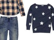 Look Kids Quadri, stelle denim