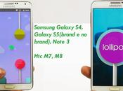 Lollipop 5.0.1 news ufficiali Samsung Galaxy Note M8...
