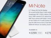 Xiaomi Note uscita Italia: solo d'importazione