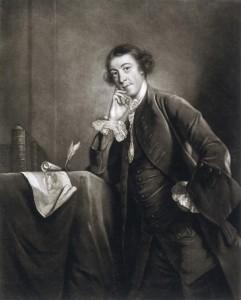 Horace Walpole, 1757 - James McArdell , da un ritratto di Joshua Reynolds. Victoria and Albert Museum