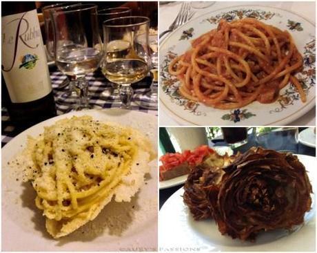 Piatti tipici Roma
