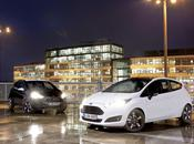 nuove ford fiesta black white edition