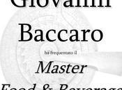Master food beverage attestato giovanni baccaro