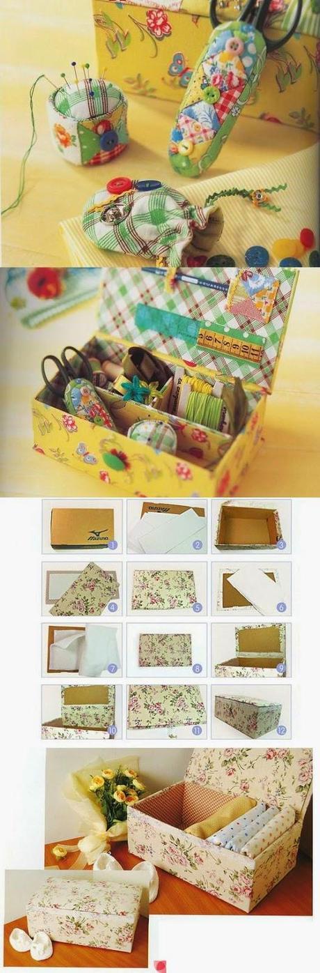Riciclare le scatole delle scarpe riciclo scatole 14 - Riciclare scatole ...