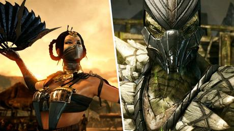 Mortal Kombat X - Gameplay Kitana Vs. Reptile