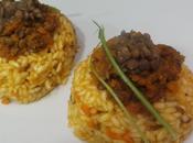 Anelli riso lenticchie