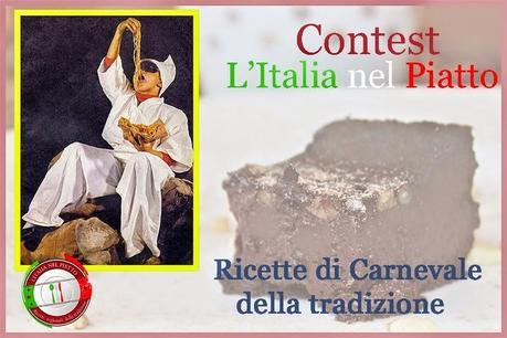 Dita degli apostoli o Cannelloni dolci di Carnevale.
