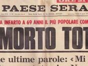 """sento male, portatemi Napoli"""". Queste furono ultime parole Totò"""