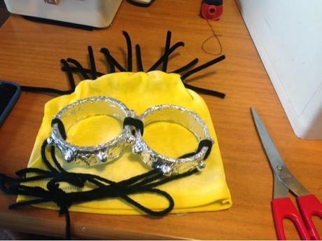 Carnevale 2015: maschera di MINION fatta a mano